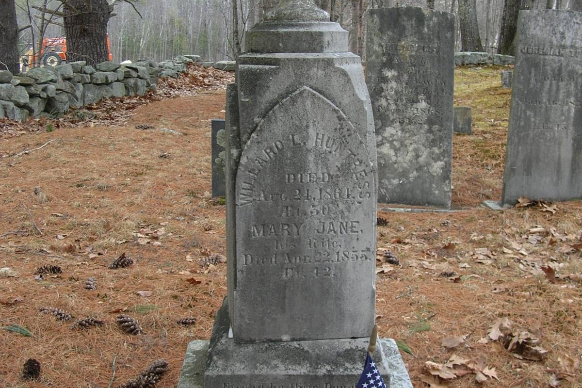 Civil War Soldier - Davis Cemetery