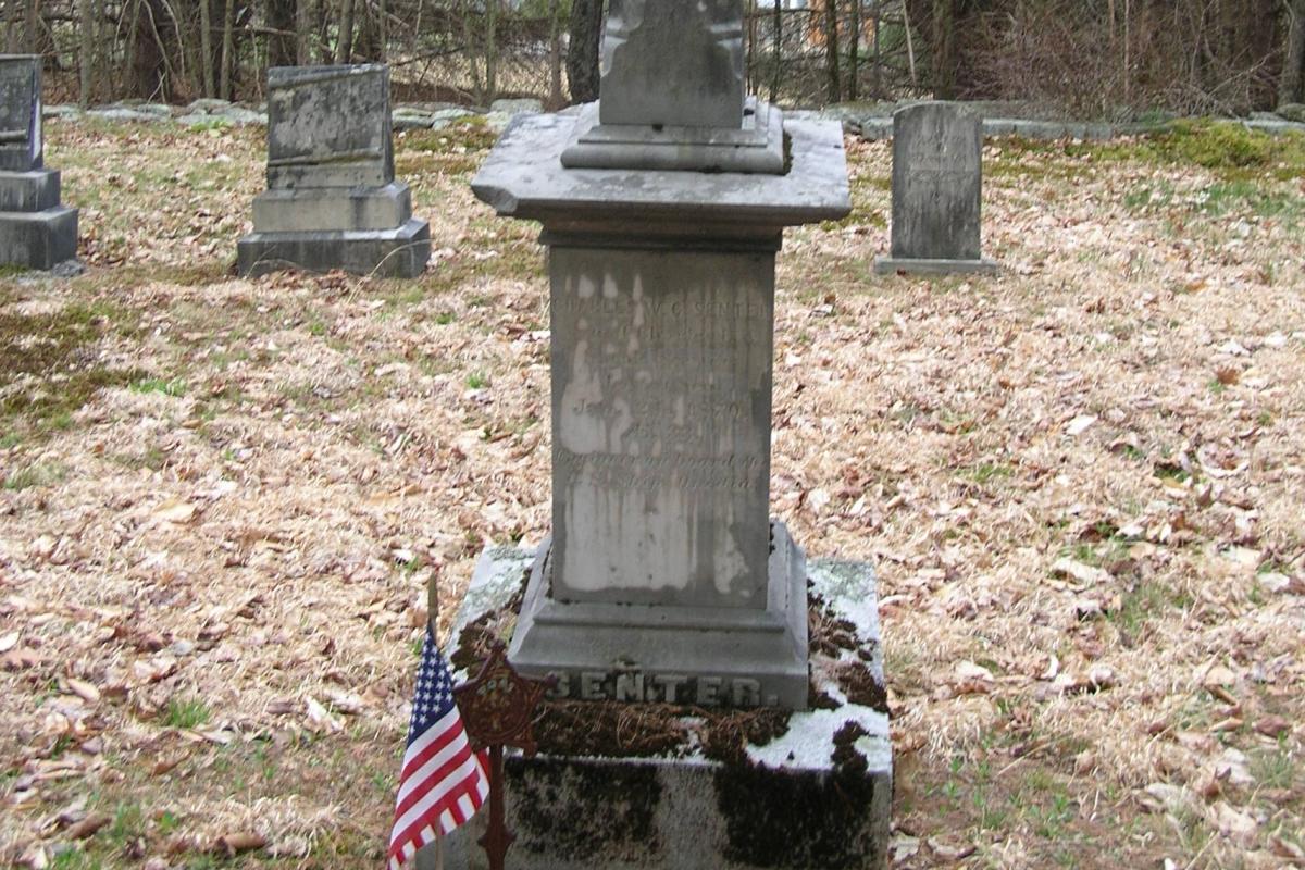 Civil War Soldier - Senter-Coe Cemetery