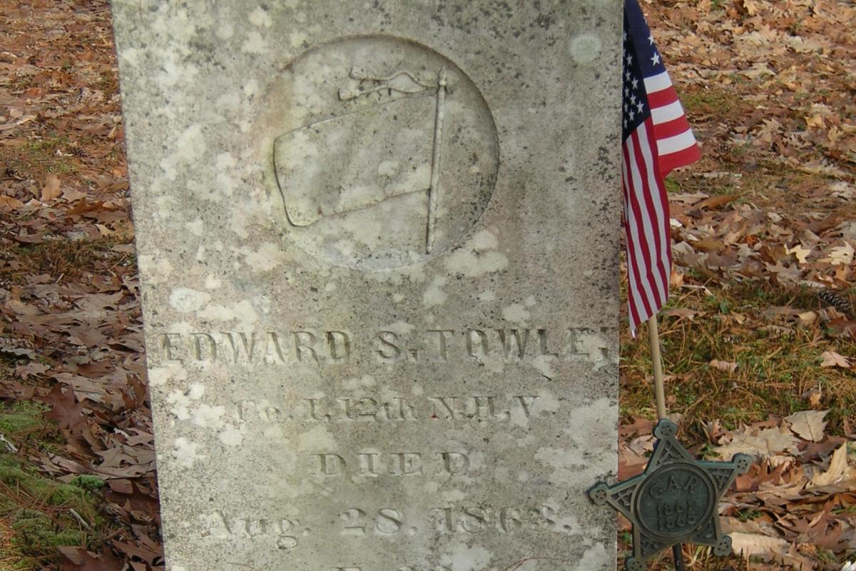 Civil War Soldier - Morse Cemetery