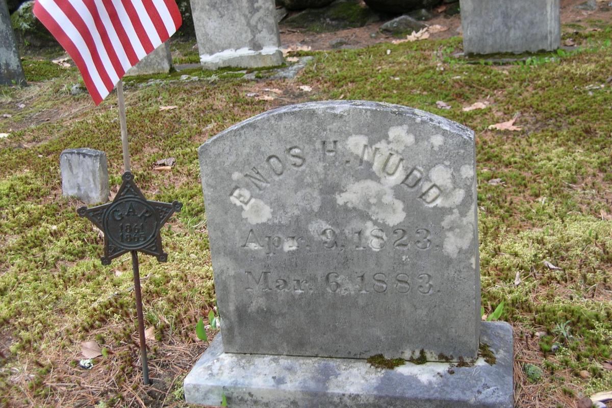 Civil War Soldier - Hawkins Cemetery