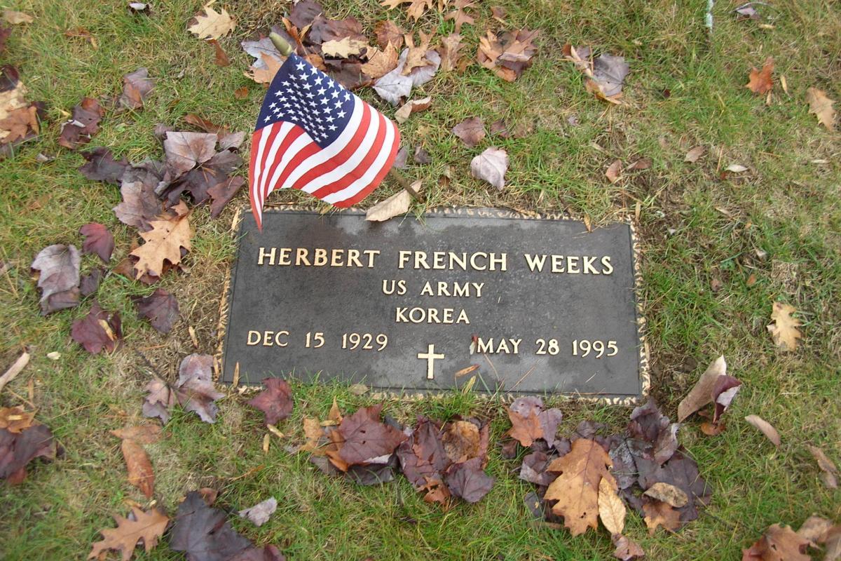 Korean War Soldier -  Center Harbor Memorial Park Cemetery