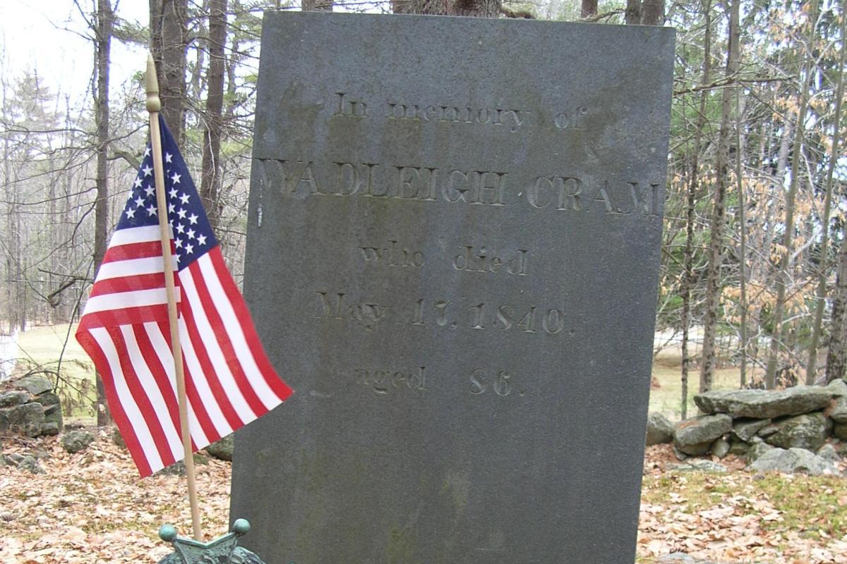 Revolutionary War Soldier - Cram Cemetery