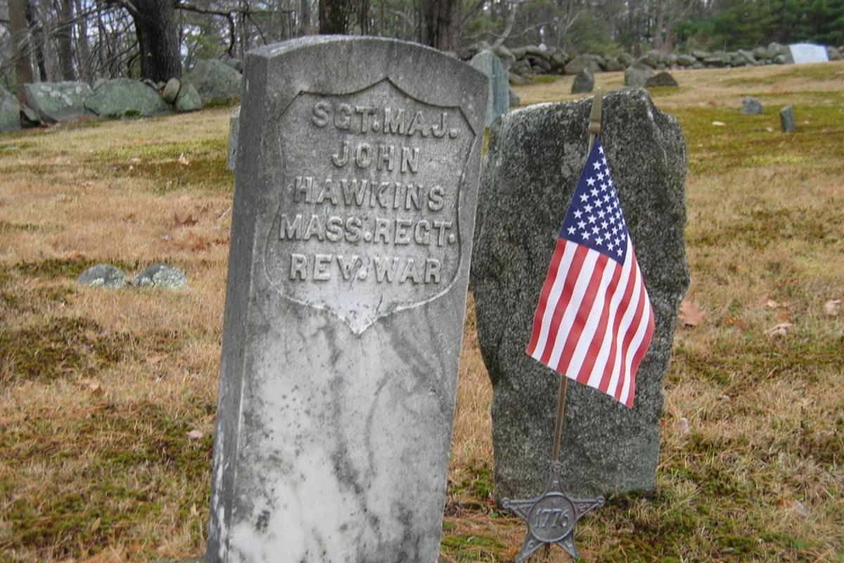 Revolutionary War Soldier - Canney Hill Cemetery
