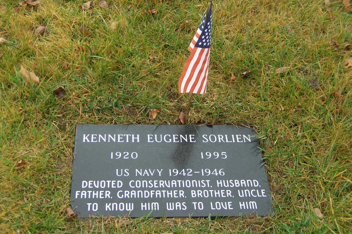 World War II Soldier - Center Harbor Memorial Park Cemetery